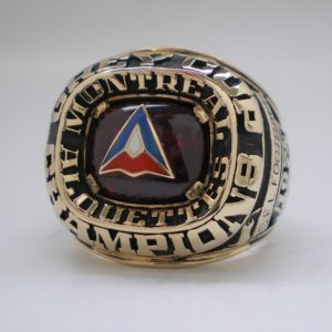 1974 Montreal Alouettes Grey Cup Ring