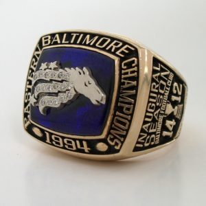 1994-BALTIMORE-STALLIONS Eastern Championship Ring
